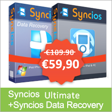 Syncios Ultimate + Syncios Data Recovery
